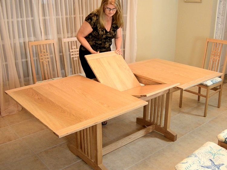 Butterfly leaf dining table plans woodcademy in 2020