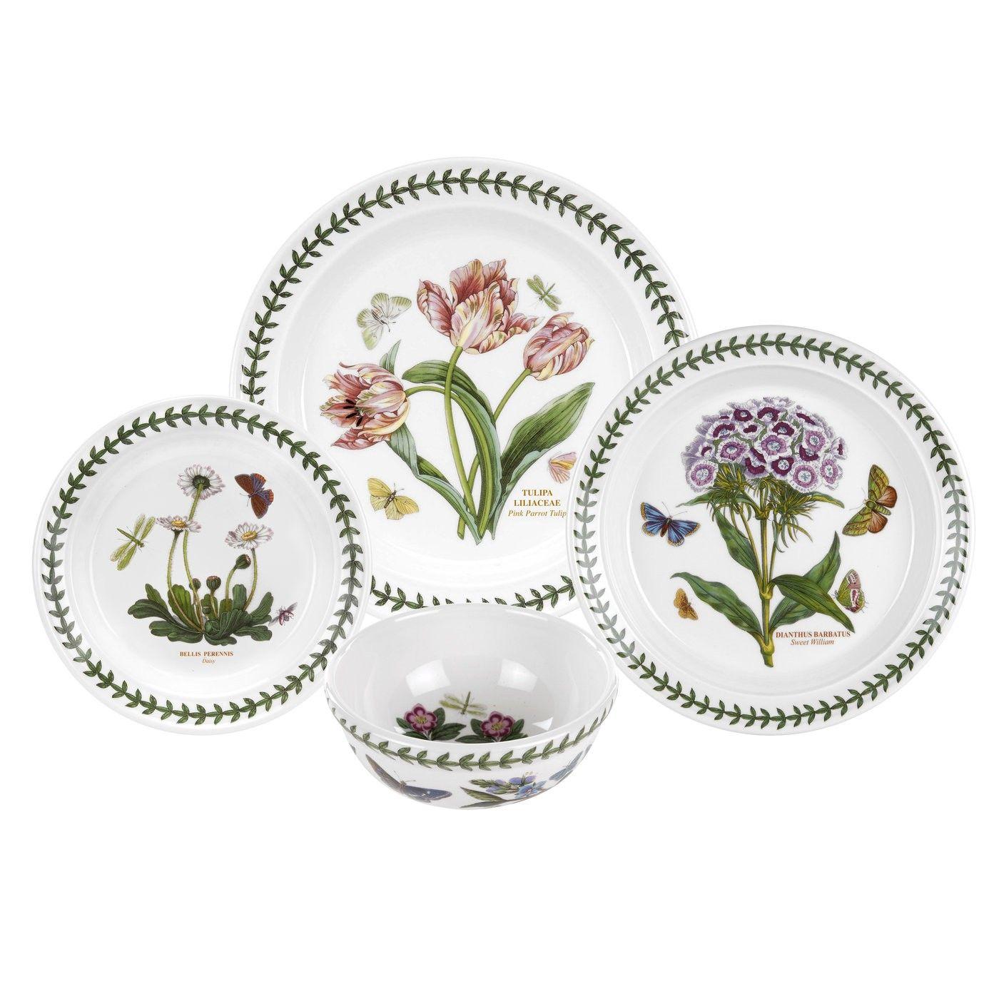 portmeirion botanic garden seconds 24 piece set portmeirion uk