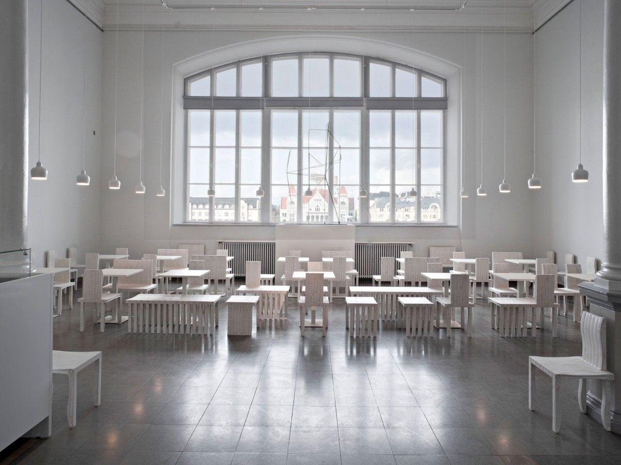 Alvar aalto house interior cafe cubus ateneum helsinki finland  resturants and bars
