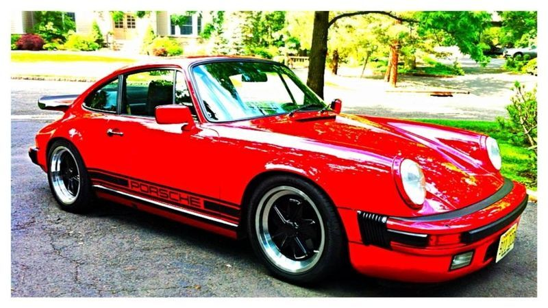 Guards Red Porsche 911 - I wanted one of these as a kid. I still do!
