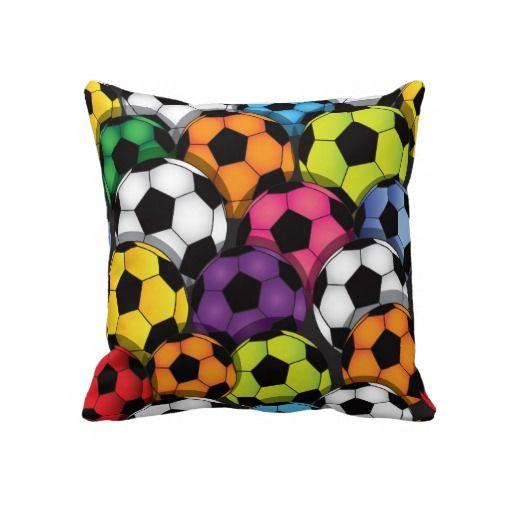 Soccer Balls Pillow