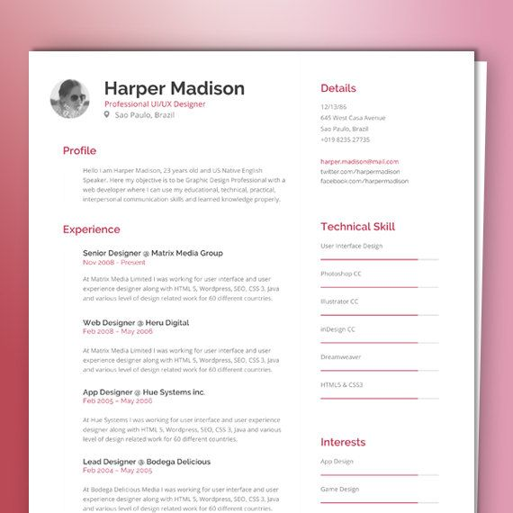 Get that job with a resume template from    citypressetsy - lead teacher resume