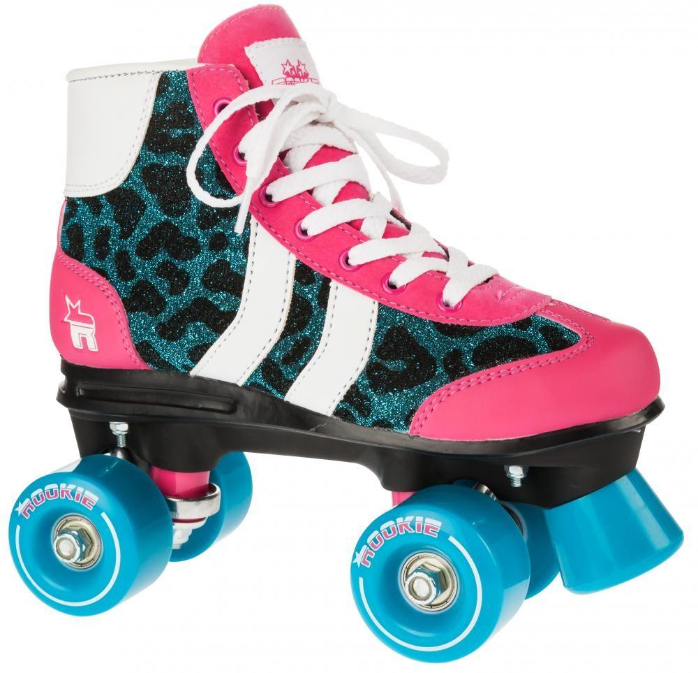066dfa7e724 Rookie Rollerskates Retro Blue Glitter Thumbnail | Skates | Quad ...