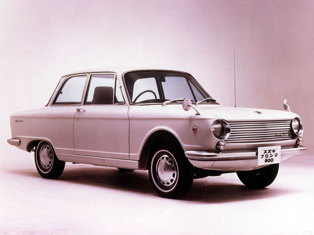 Suzuki Fronte 800 - photos, news, reviews, specs, car ...