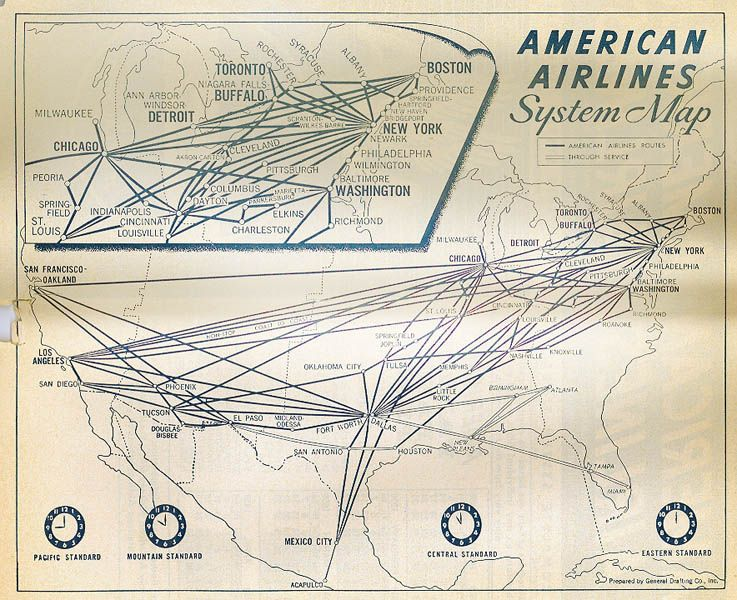 Flight Map Geometrics Pinterest Vintage Travel And Travel - Us airways europe route map