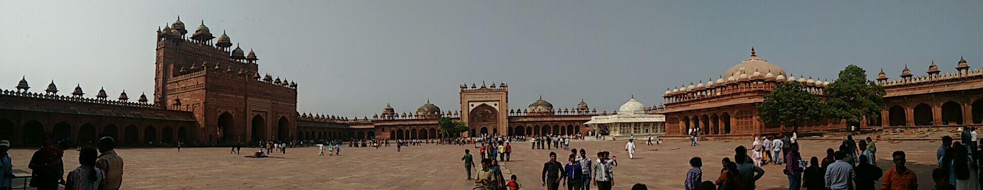 Fatehpur Sikri.....panoramic view.