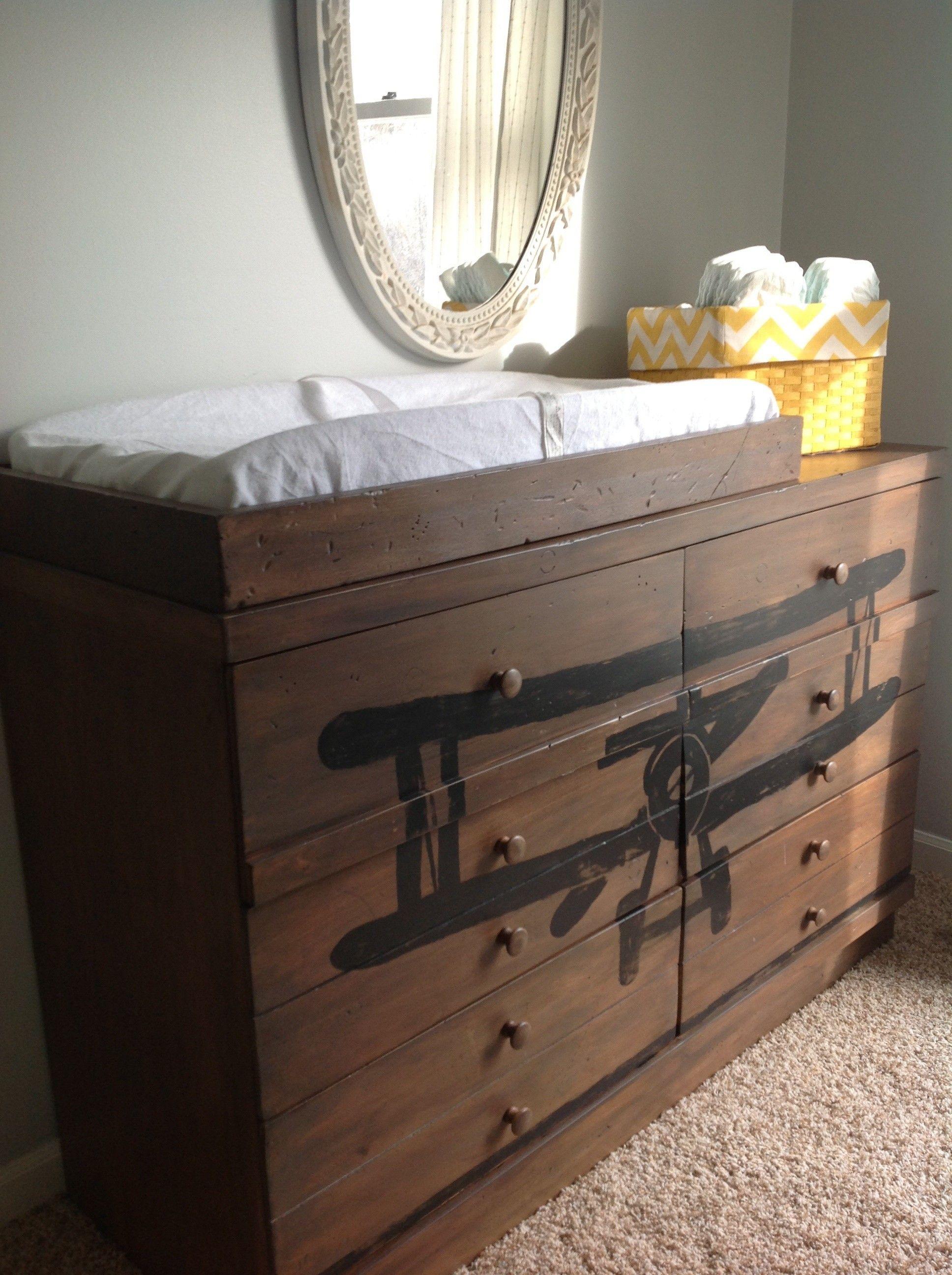 Biplane Dresser Or Changing Table 450 Crystal Lake Http Furnishly