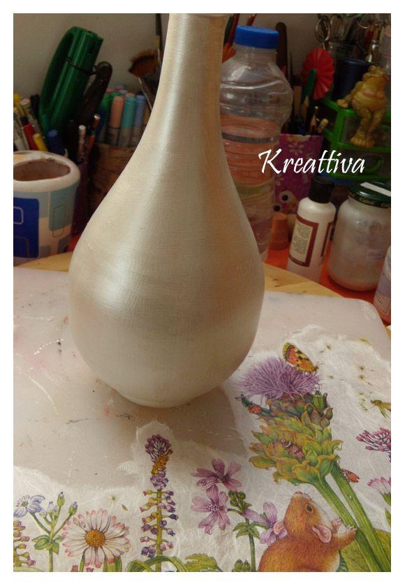 Kreattiva: Ricicliamo una bottiglia