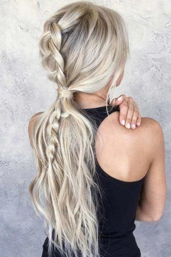 Best Pics Five Beautiful Low Maintenance Hairstyles For Working Mums  Popular  Braids are probably one of the earliest hairstyles which have been changed in numerous ways.  One ca #beautiful #Hairstyles #Maintenance #Mums #Pics #Popular #Working # beyonce blonde Braids