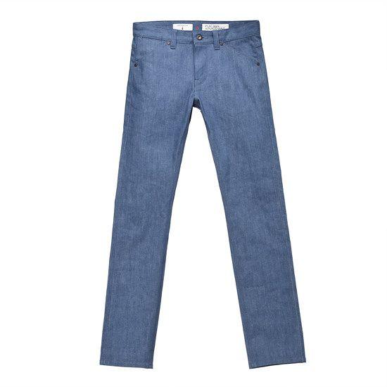 PLAC Jeans X Customellow - Selvage Berlin Denim Pants