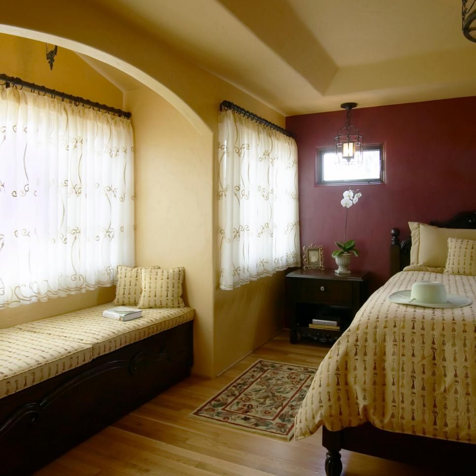 Master bedroom yellow walls  Rooms Viewer  Home decorating  Pinterest  Spanish Against and
