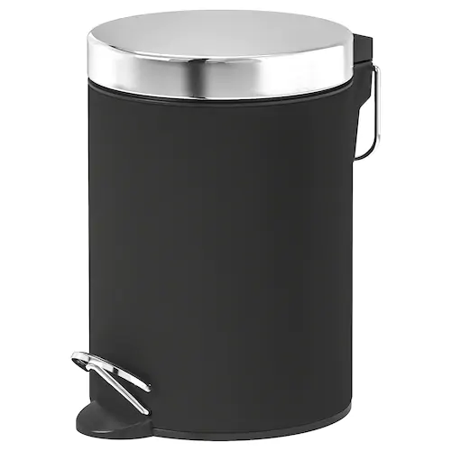 Nowosc Ikea In 2020 Bathroom Decor Accessories Wash Basin Accessories Trash Can