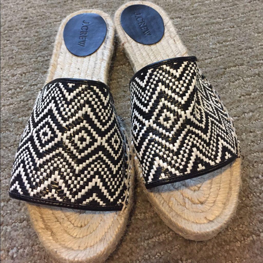 J. Crew Slip On Sandals