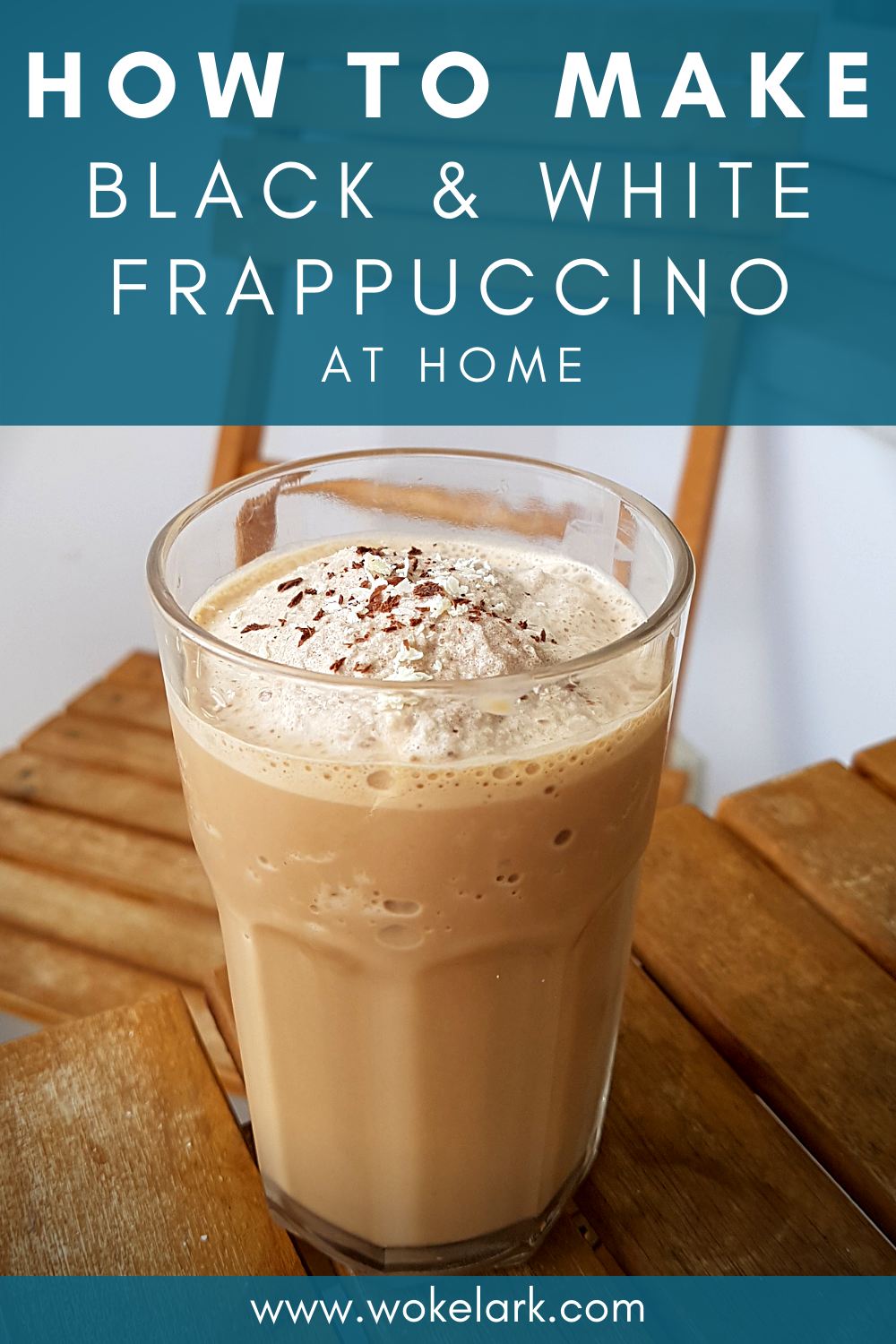 Black And White Mocha Frappuccino Recipe Recipe Blended Coffee Drinks Recipes Coffee Recipes