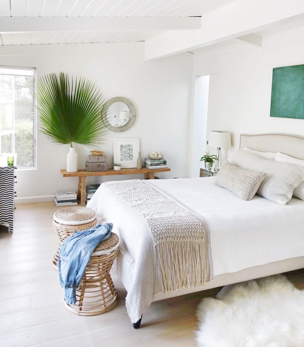 Perfect Coastal Beach Bedroom Decoration Ideas 8 California