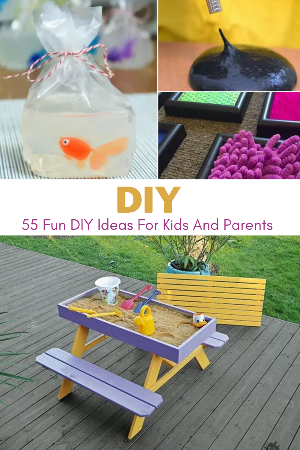 Photo of 55 Fun DIY Ideas For Kids And Parents