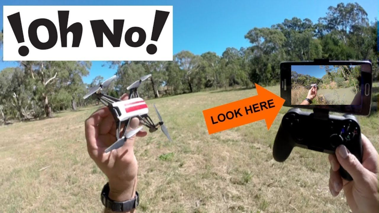 DJI RYZE TELLO FPV - Return to home FAULTY? - Lost over