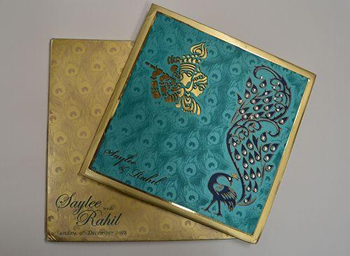 Designer Wedding Card Covaiweddingshoppers