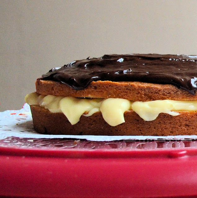 Cooking By Moonlight: Boston Cream Pie