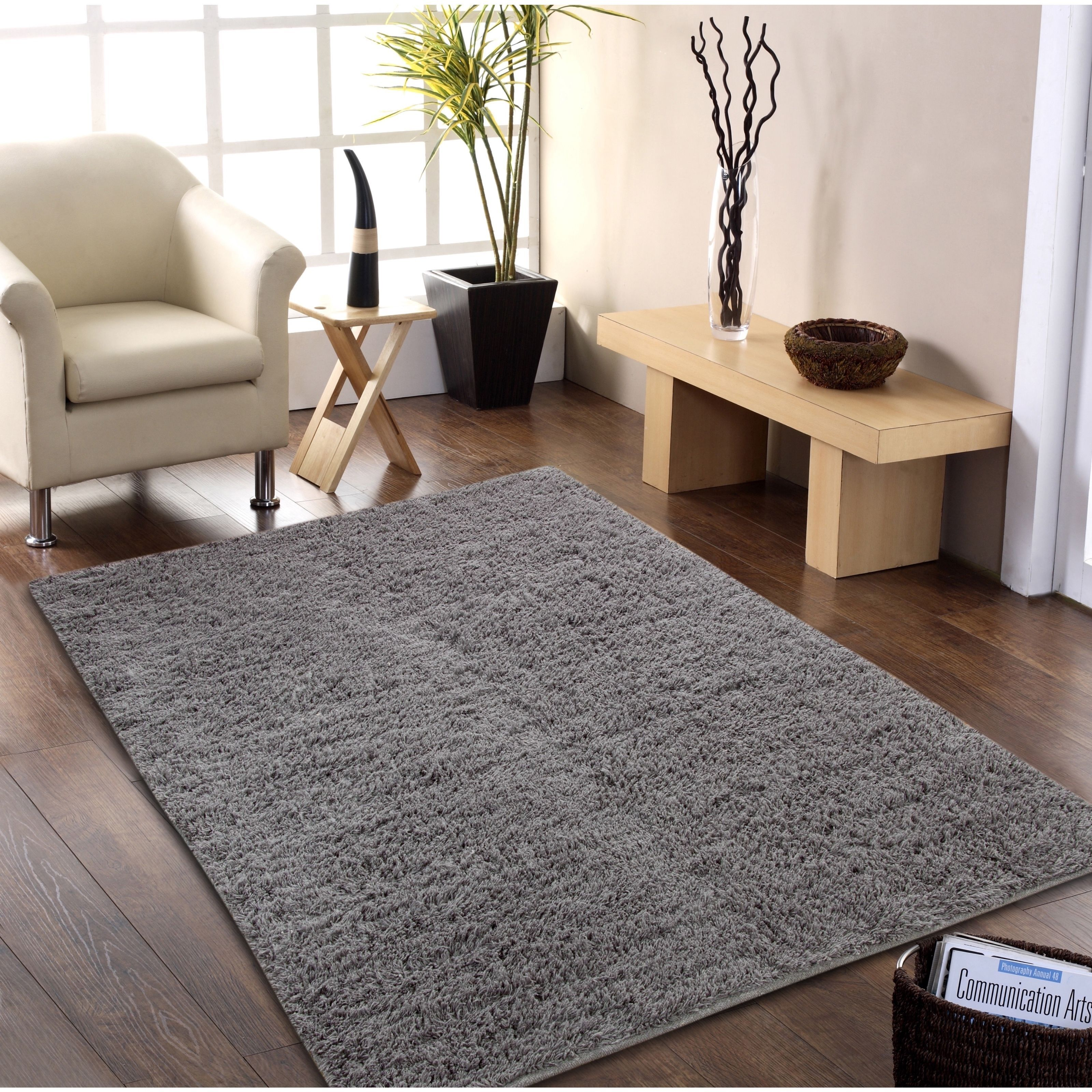 Affinity home collection handwoven flokati wool shag rug products