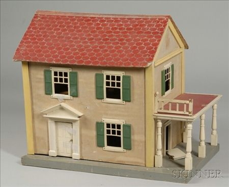 Schoenhut Doll House And Contents Sale Number 2355 Lot Number 663 Skinner Auctioneers Doll House House Cute House