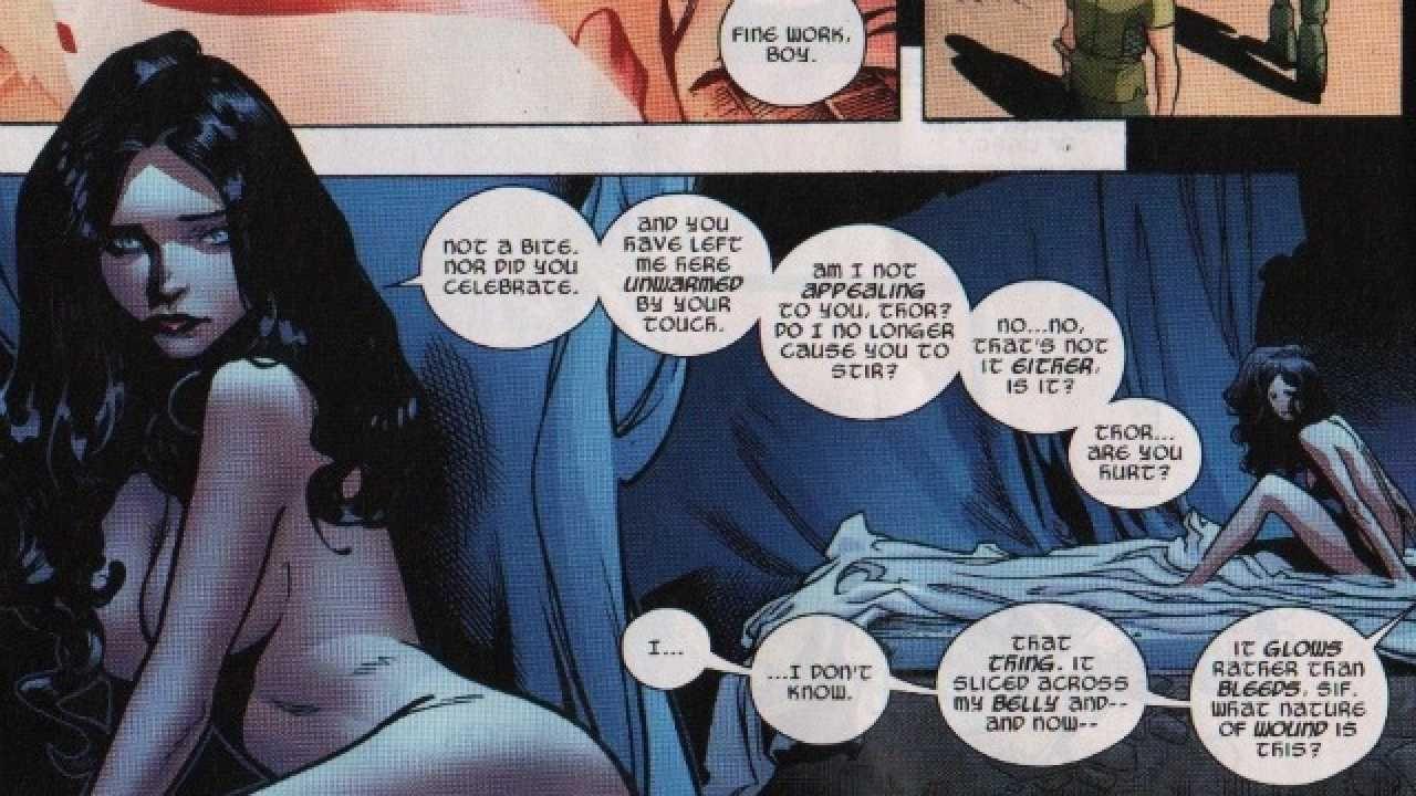 Naked comic book woman — img 13