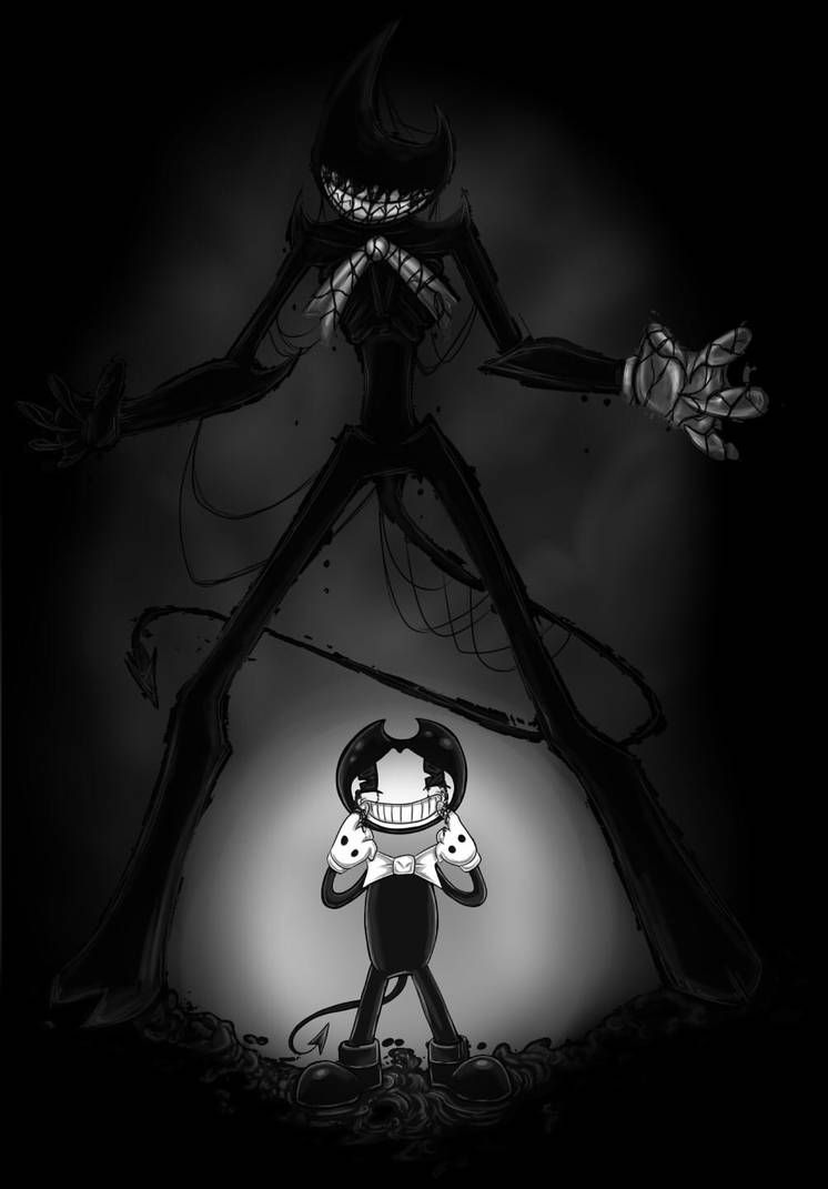 Cursed Smile By Kryptangel Bendy And The Ink Machine Ink Witchy Wallpaper