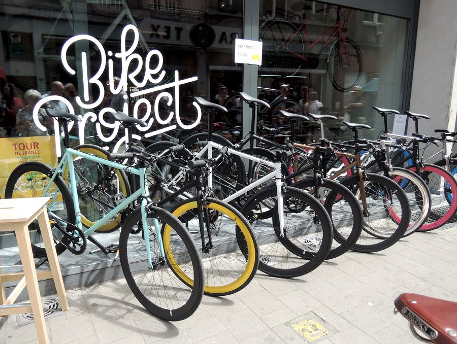 Bike Project Antwerp Antwerpen