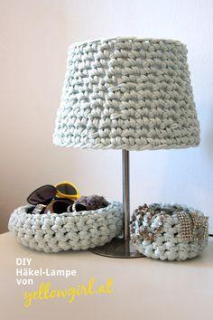Diy Häkel Lampe Redesign Haken Crochet Deco En Laine