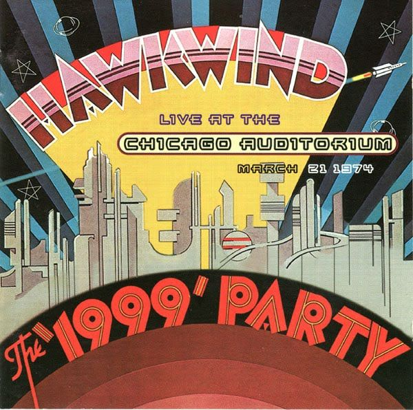 Hawkwind The 1999 Party Concert Posters Music Posters