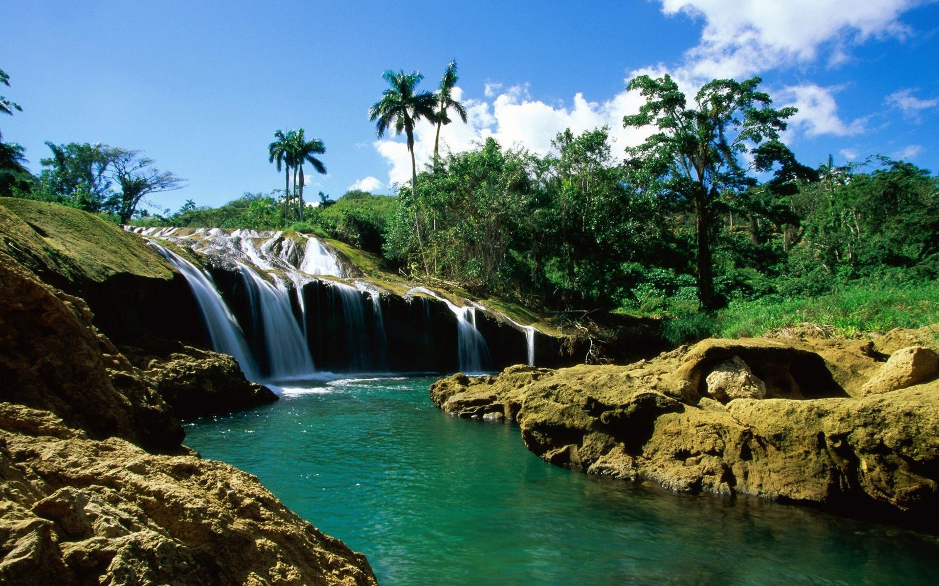 Waterfall Hd Wallpaper For Pc Full Hd Pictures Places To Visit Cuba Travel Beautiful Waterfalls