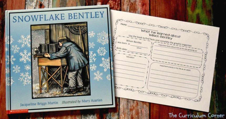 Book study snowflake bentley snowflake bentley book