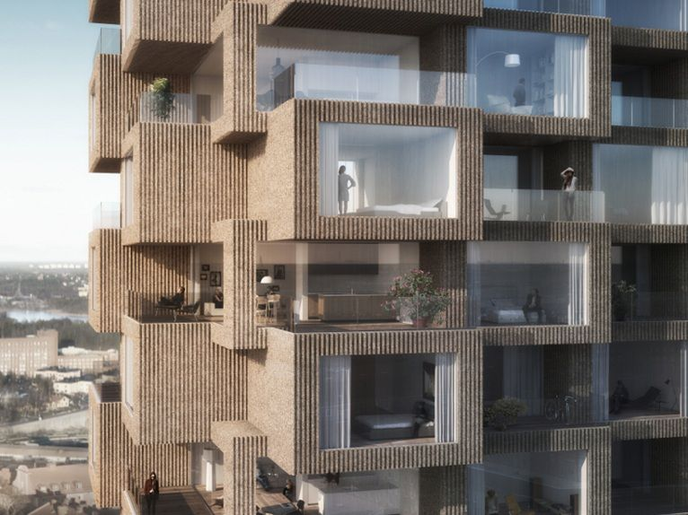 Apartment Design Competition oma has won the design competition for tors torn in stockholm