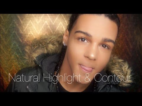 easy  quick men's natural fall makeup tutorial