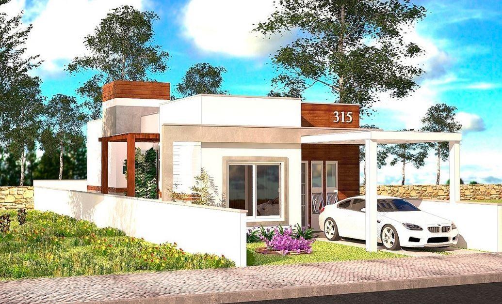 Planos de casas modernas 7x15 fachadas house styles for Planos casas pequenas modernas