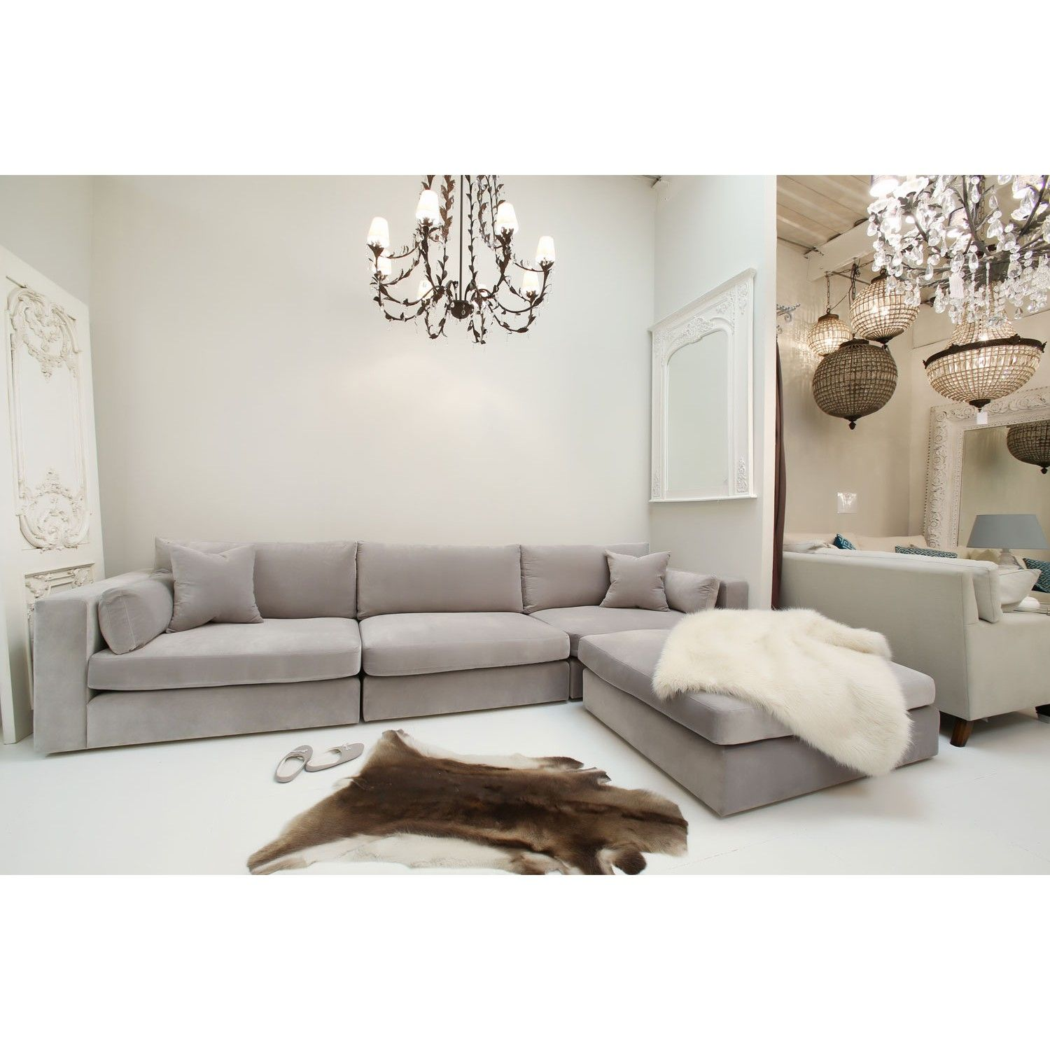 Sofas On London Old Fashioned For Sale Lansdowne L Shape Sofa Handmade In