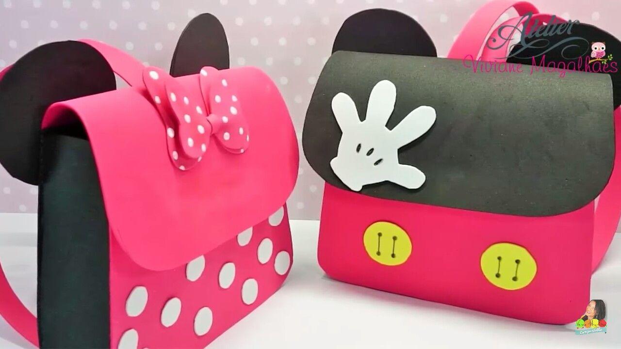 Cumple Mickey Mouse Souvenirs Y Bolsas Mickey Mouse Mochila Goma