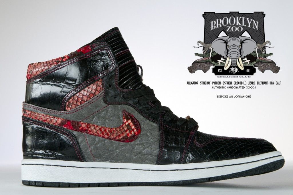 Air Jordan 1 'Brooklyn Zoo' Customs By PMK