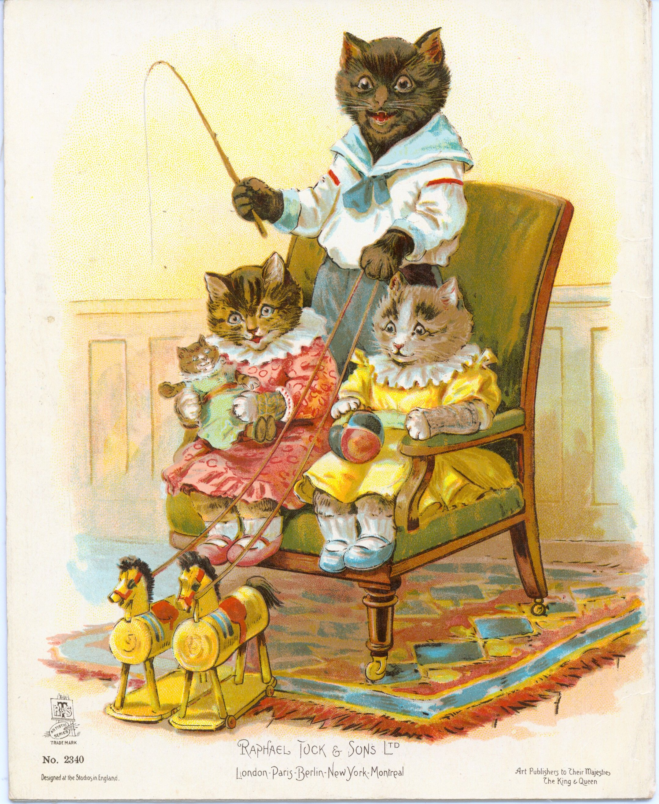 More About The Three Little Kittens Antique Raphael Tuck Book Storybook Art Cats Illustration Little Kittens