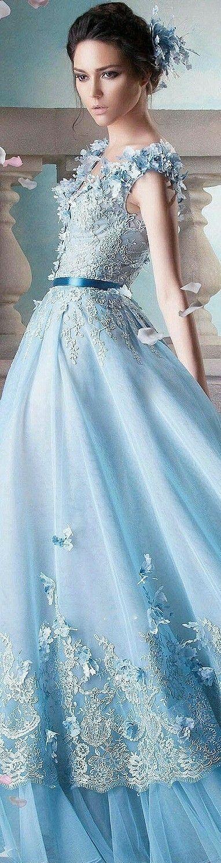 Pin von RAVENA auf Shades of light Blue | Schöne kleider ...