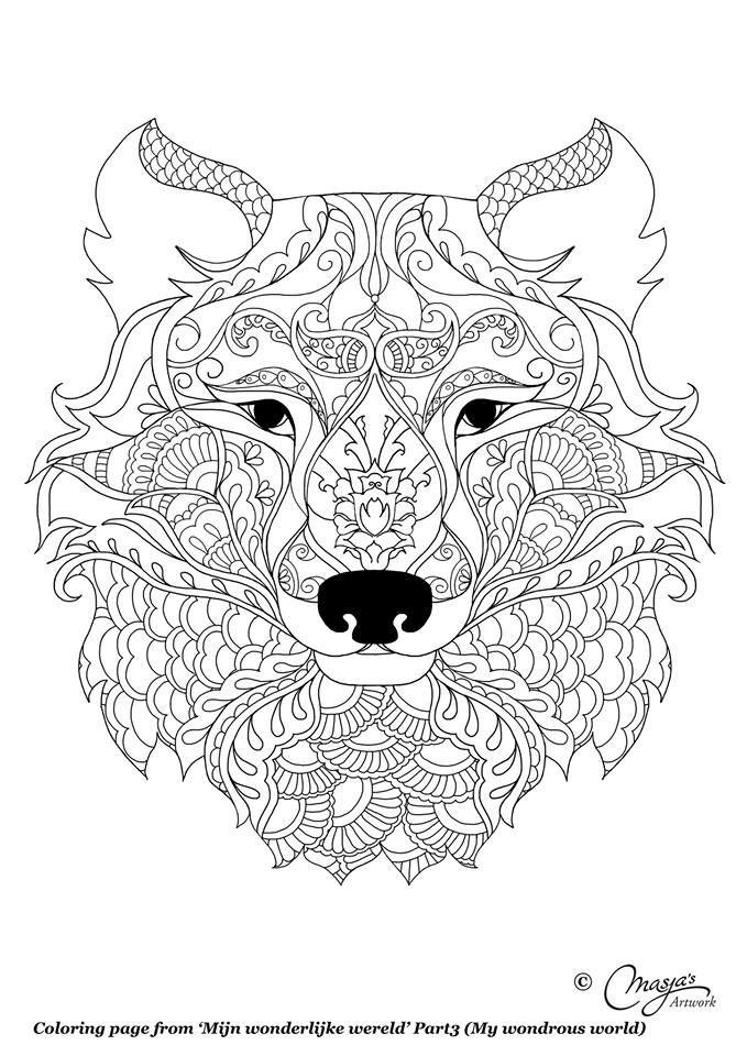 Pin de Nathalie en Lineart | Pinterest | Mandalas, Colorear y Libros ...