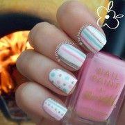 Пролетни и летни колоритни дизајни за кратки нокти