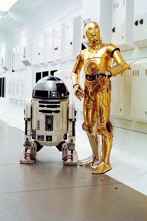 R2d2 And C3po In Movie R2D2 & C3PO; two o...