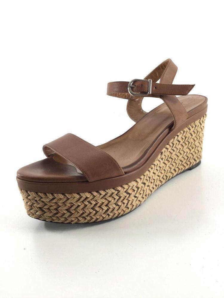 101e98306e8 1524 Aquatalia Cassidy Chocolate Leather Platform Wedge Sandal Women s Sz 8  M  fashion  clothing  shoes  accessories  womensshoes  heels (ebay link)
