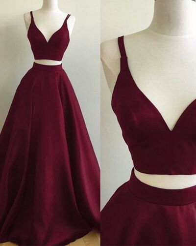 Burgundy Prom Dresses, Two Pieces Prom Dresses, Formal Dresses, Wedding Party Dresses, Sweet 16 Dresses · BBDressing · Online Store Powered by Storenvy