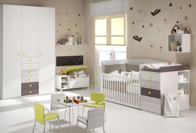 Como Combinar Colores Habitaciones Bebes Baby Room Ideas - Combinacion-colores-habitacion