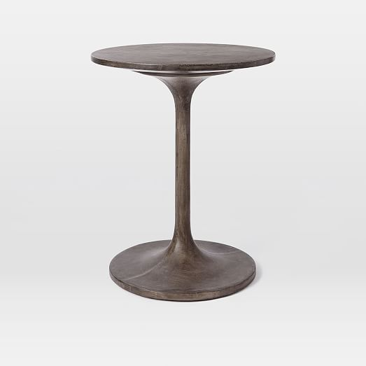 I Have This And Itu0027s Nice And Big Enough For A Side Table Concrete Pedestal  Side