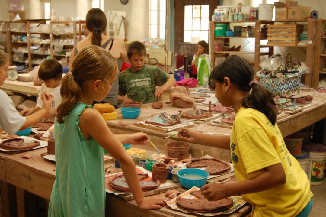 Childrens art clay classes historic summer fun for