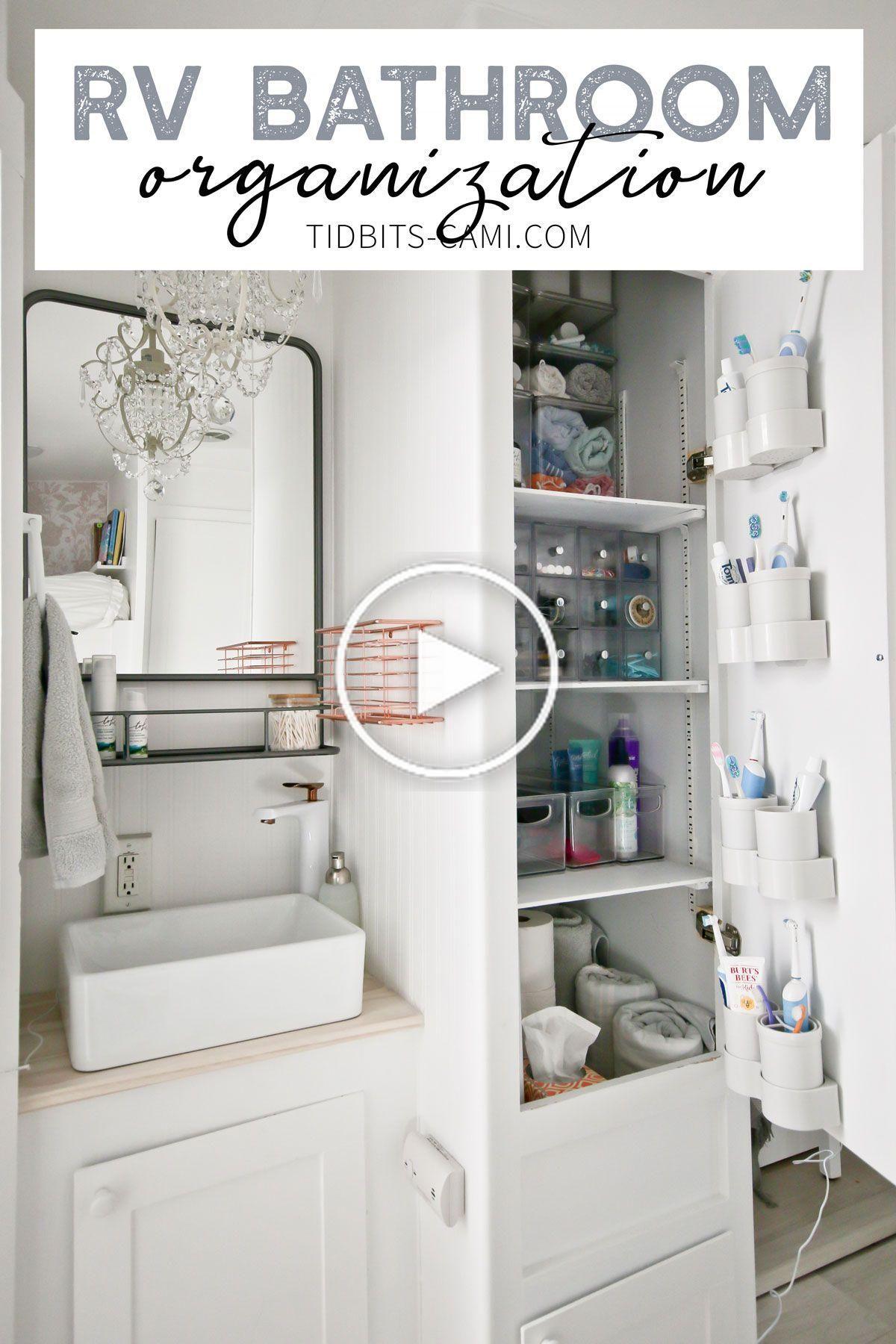 Lassen Sie Sich Von Unseren Kleinen Hause Und Rv Bad Organisation Ideen Und Losungen Inspiriert Wahrend Wir Mit Einer In 2020 Badezimmerideen Badezimmer Organisation
