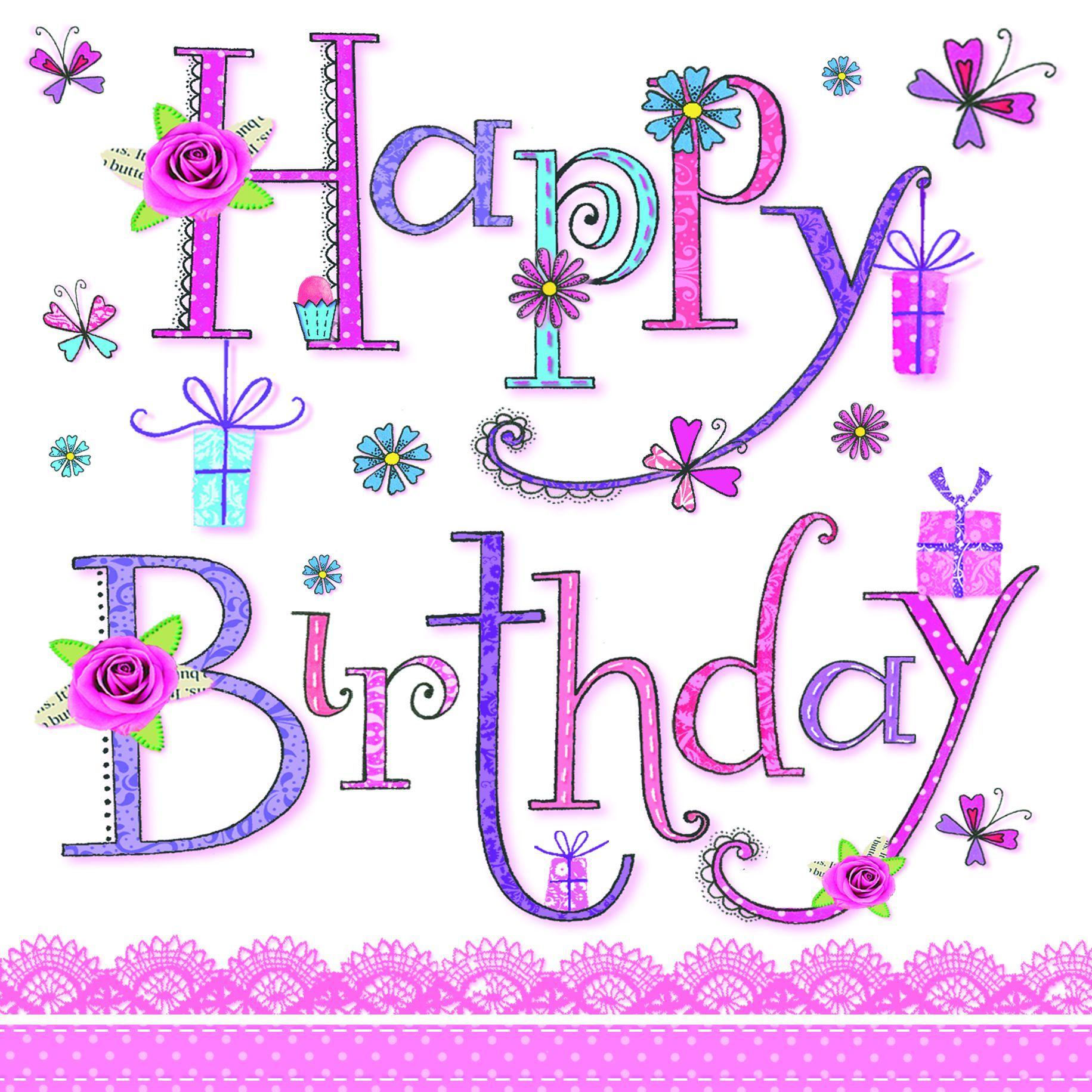 Tekst Verjaardag Kind I Love Birthdays Happy Birthday Birthday